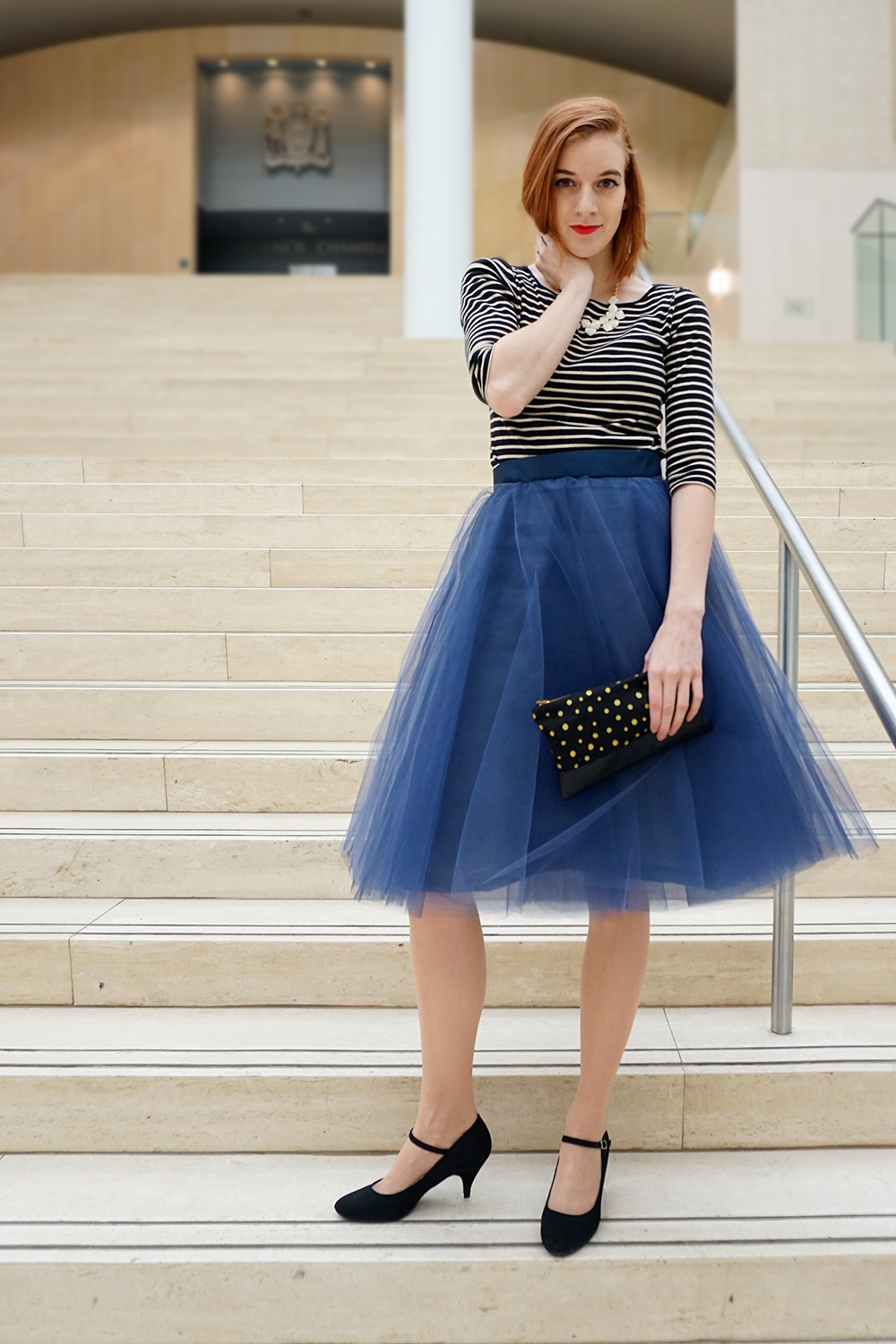 Navy Blue Tulle Skirt-2016.jpg