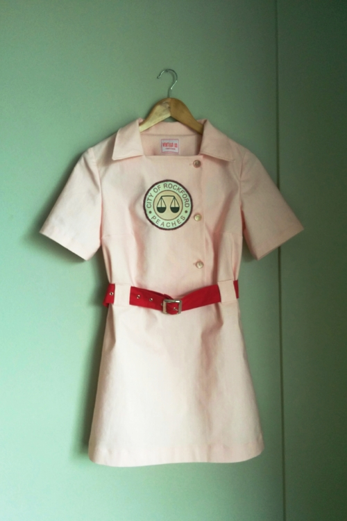 Rockford Peaches Costume made by Vertigo Go