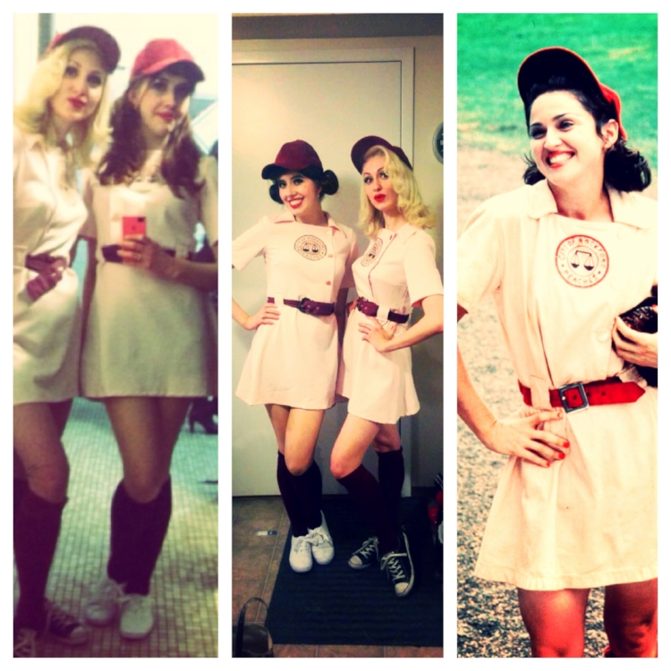 Rockford Peaches Halloween Costumes. Photo from Nicole A Go Go's instagram.