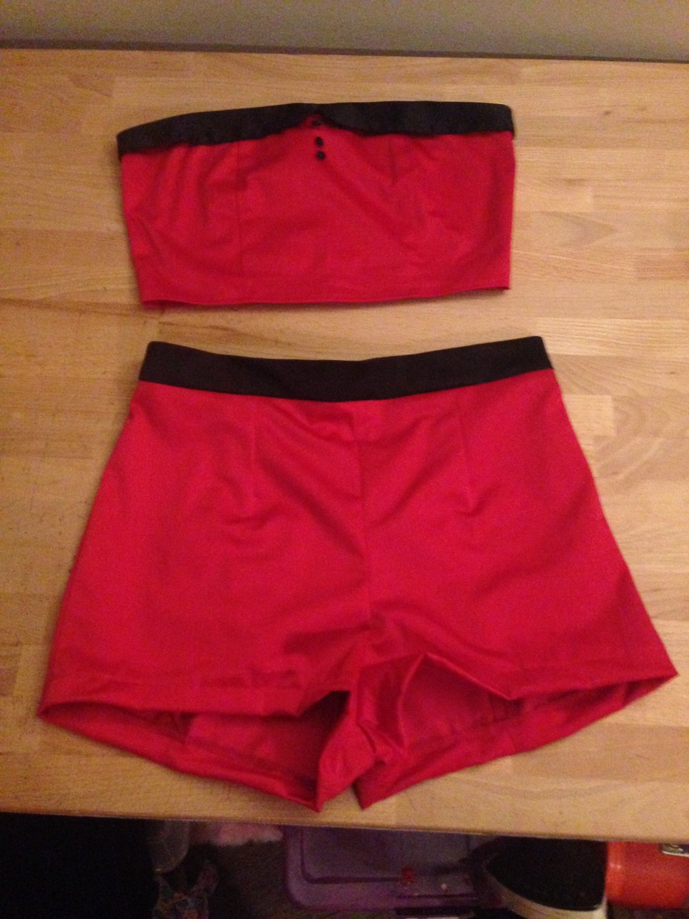 Vertigo Go 2 Piece Red Play Suit