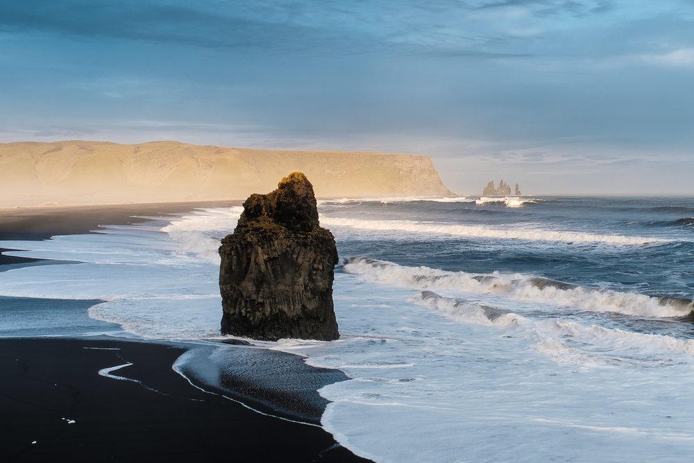 Cliffs of Dyrholaey