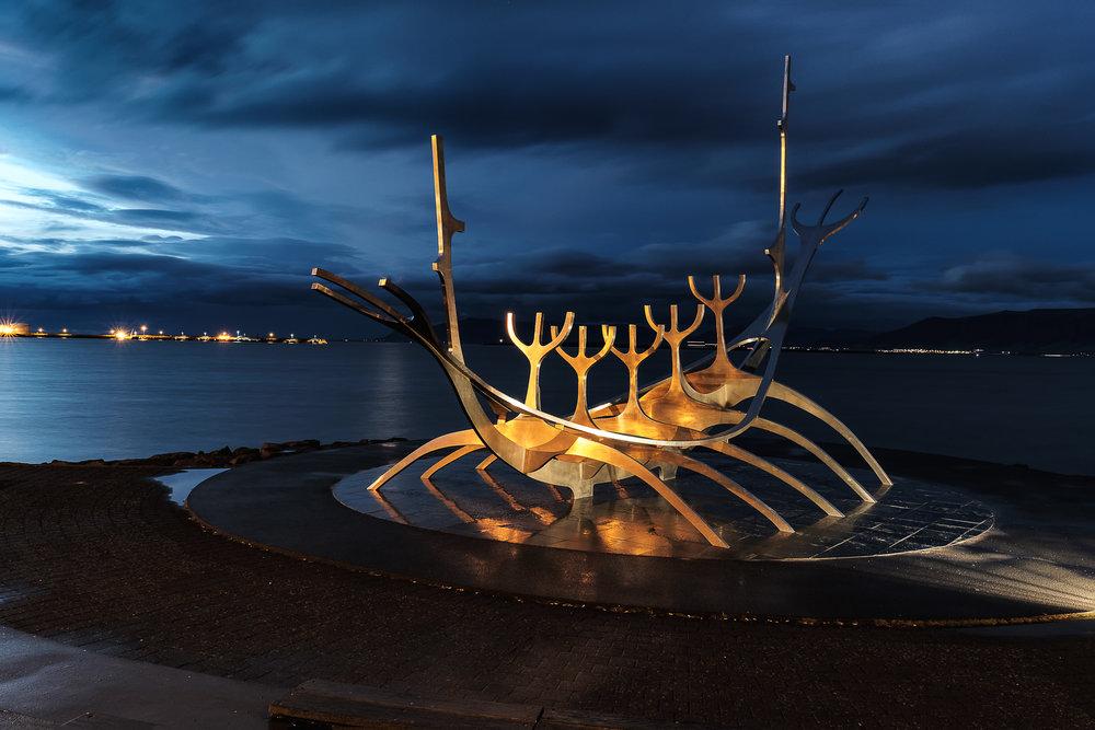 The Sun Voyager, Reykavik