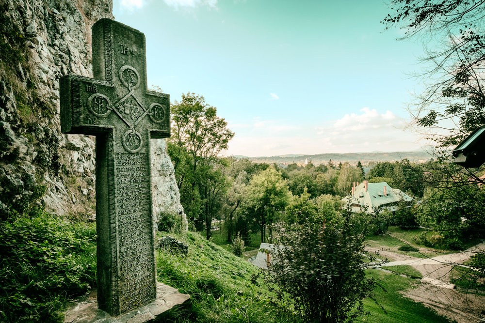 The View from Bram Castle, Romania