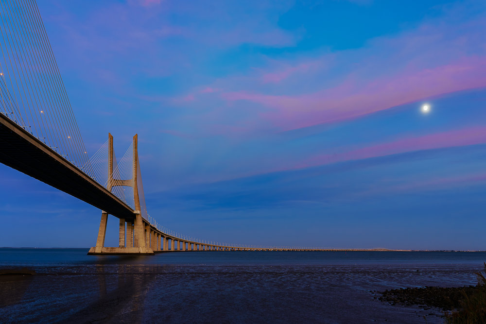 Vasco De Gama Bridge, Lisbon, Portugal