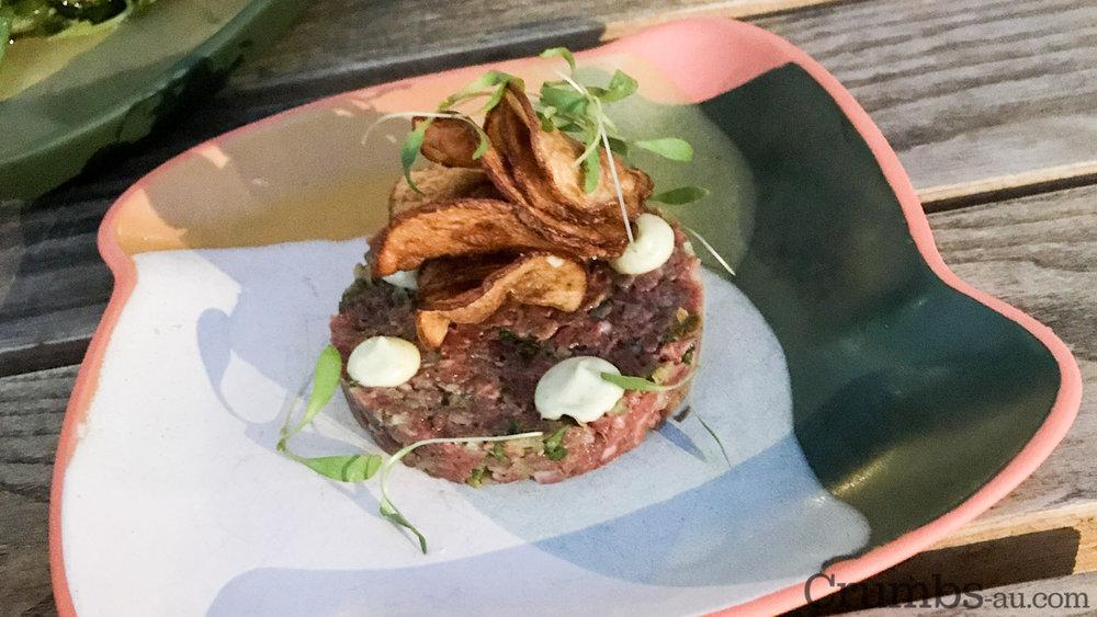 Beef Tartare, $15