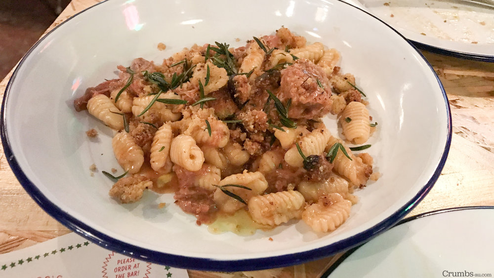 Gnochetti, Braised Lamb, Rosemary, $24