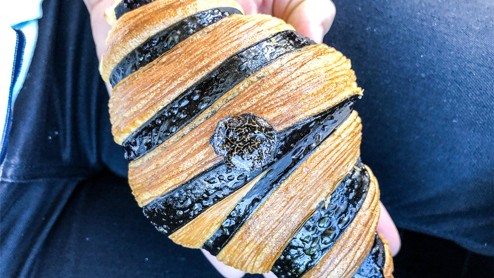 The famed Truffle Croissant
