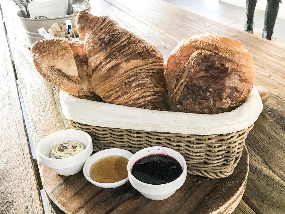 French Breakfast (Baguette, Croissant, Pain au Chocolat)