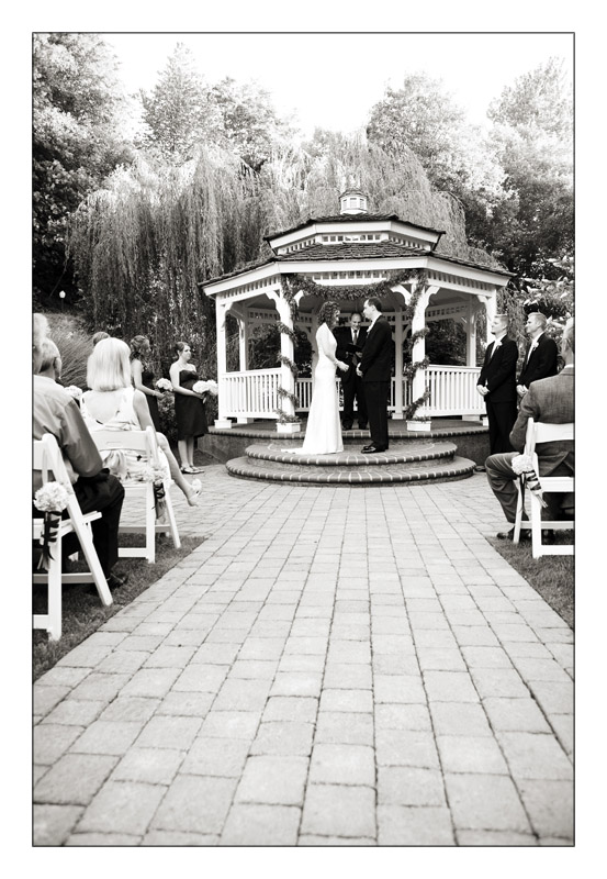 Gazebo Wedding in Oregon City