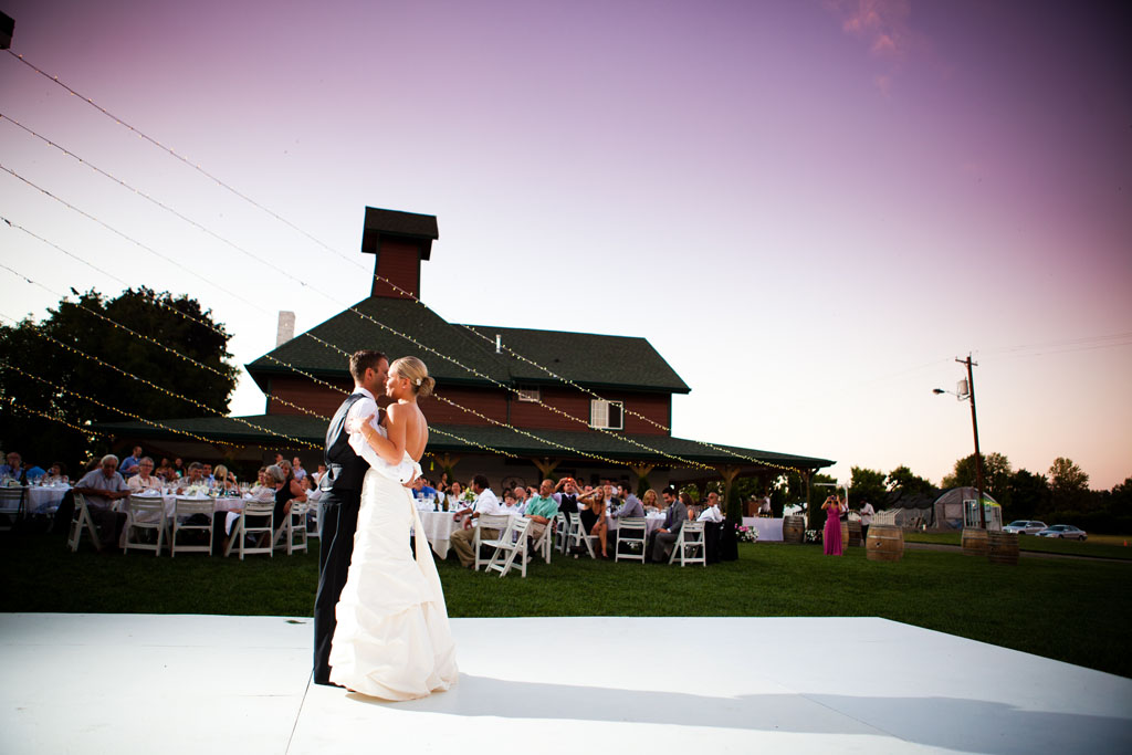 First dance at Heiser Farms in Grand Island