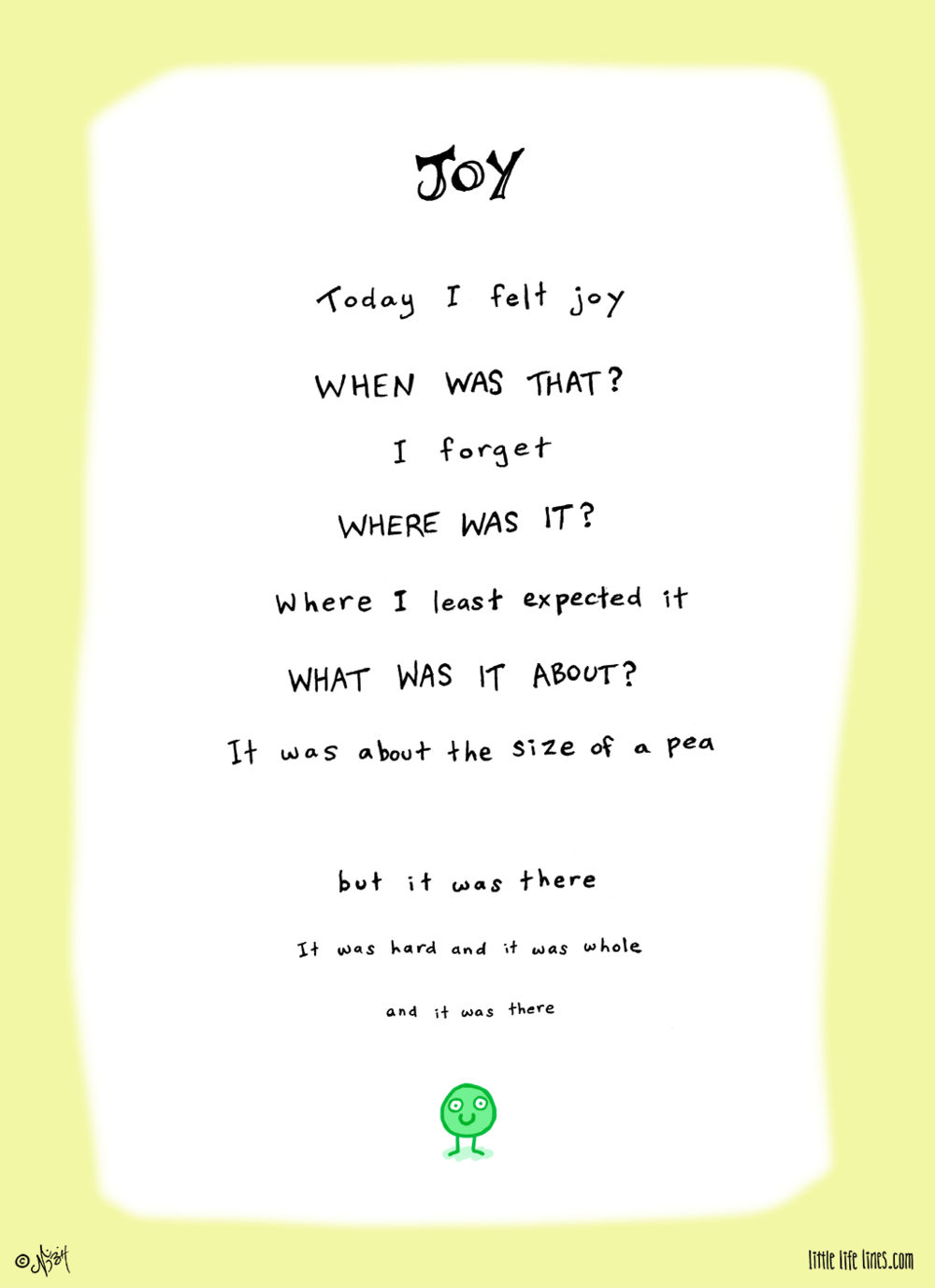 poem about joy