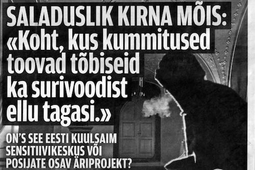 2013 Õhtuleht. Saladuslik Kirna mõis - koht, kus kummitused toovad tõbiseid ka surivoodilt ellu tagasi