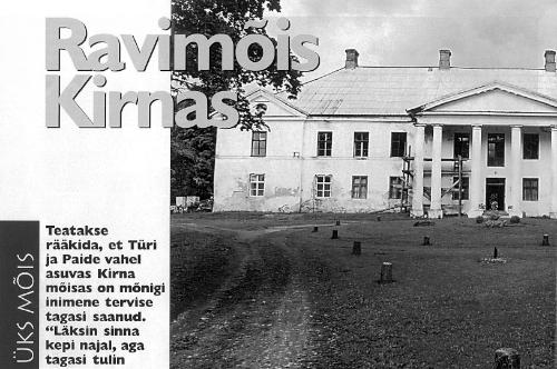 2002 Maakodu. Ravimõis Kirnas