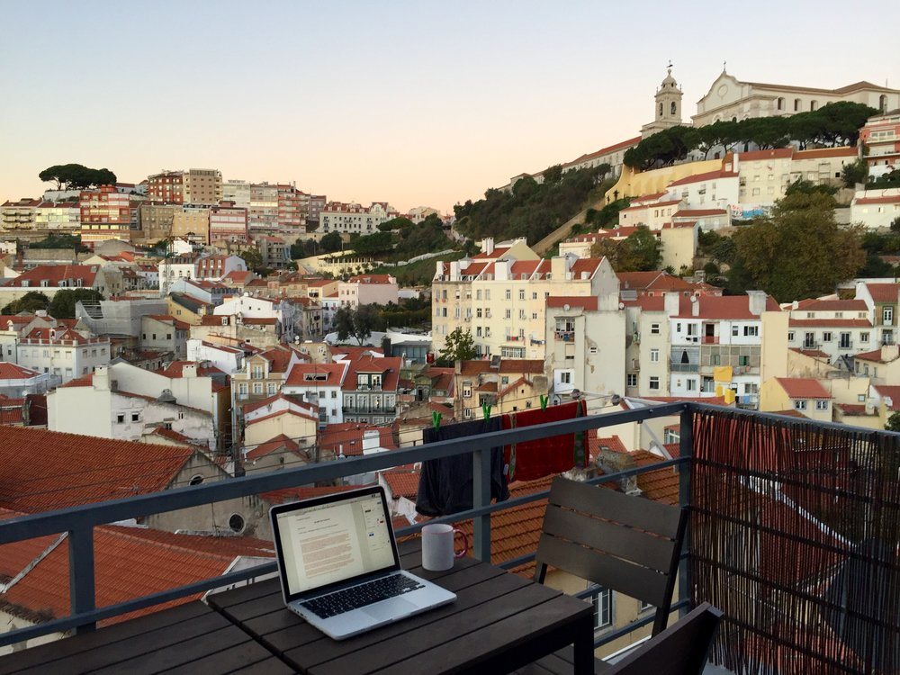 Lisbon, Portugal, photo provided by Xylia Buros