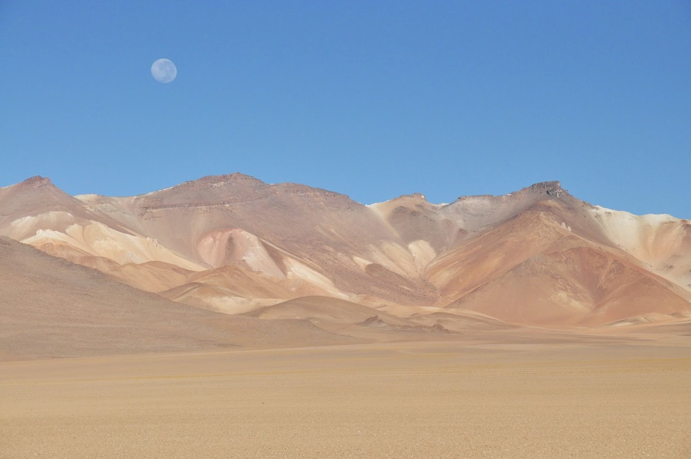 The Atacama Desert - the highest desert in the world.