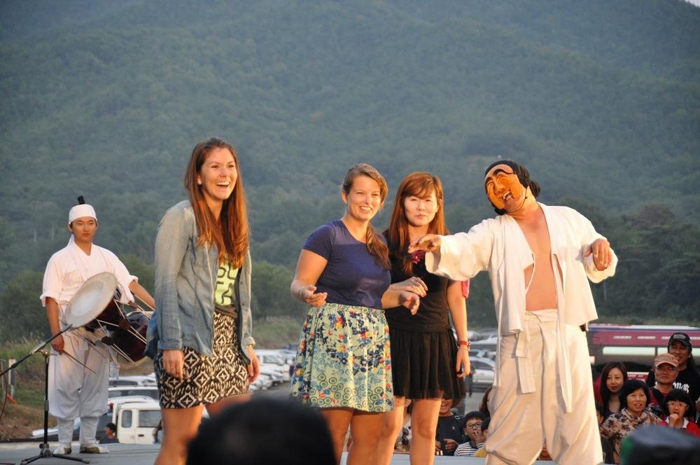 Andong Mask Festival Hahoe Folk Village Korea