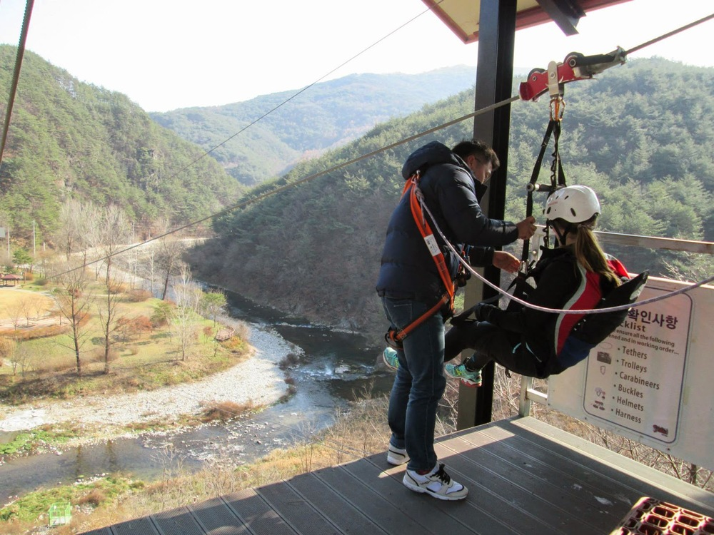 Adventure Korea Caving and Hand Fishing