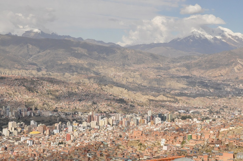 La Paz is ENORMOUS!