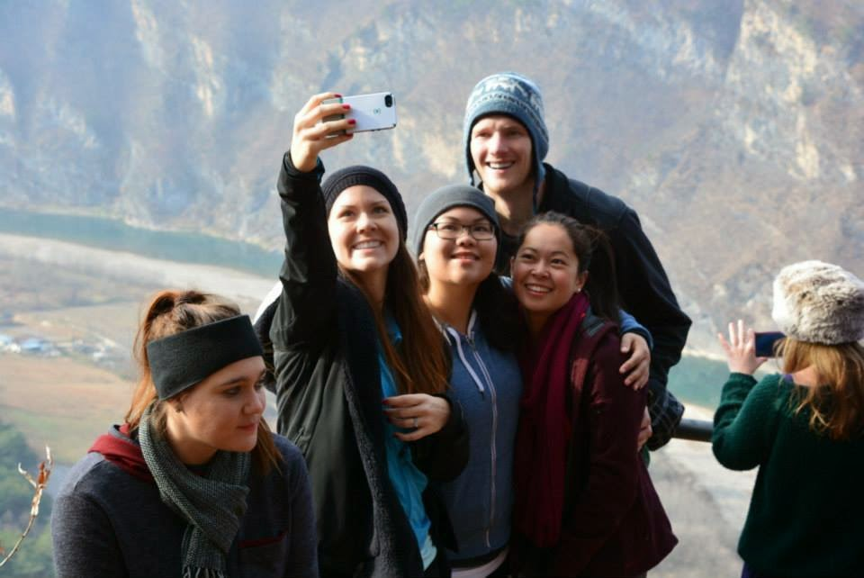 Selfayyyy time! Photo courtesy of Adventure Korea.
