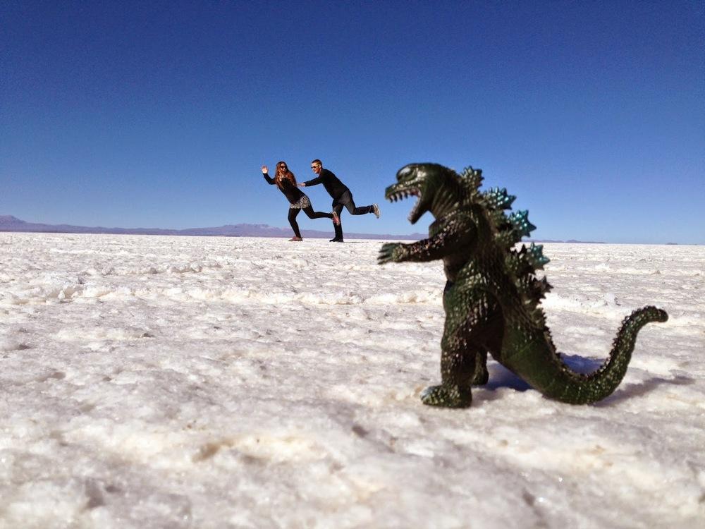 Salar De Uyuni Bolivia Red Planet