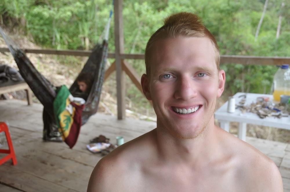 Ben wanted a haircut... so I gave him aMohawk.