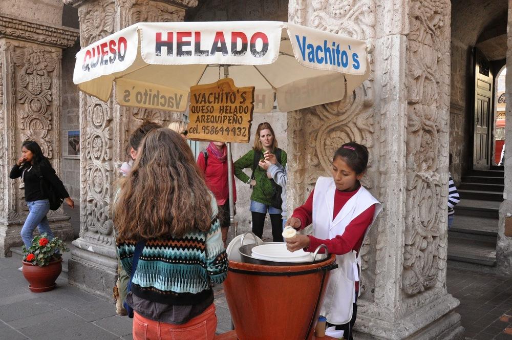 Queso Helado Arequipa Peru