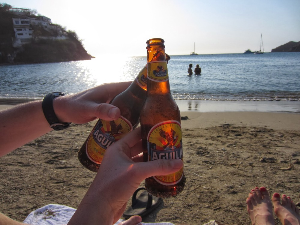 Beach beers. Can't get much better than this!
