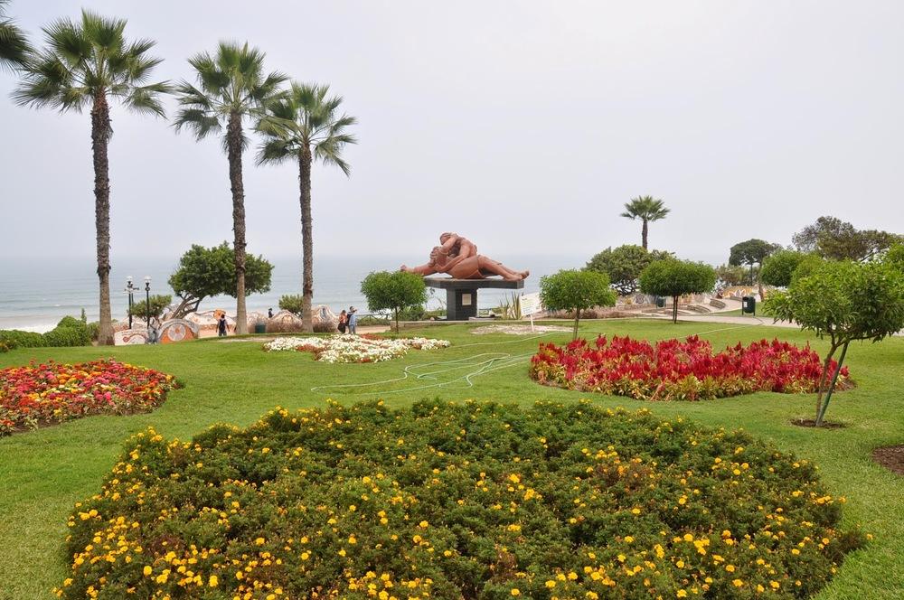 El Parque del Amor Love Park Lima Peru
