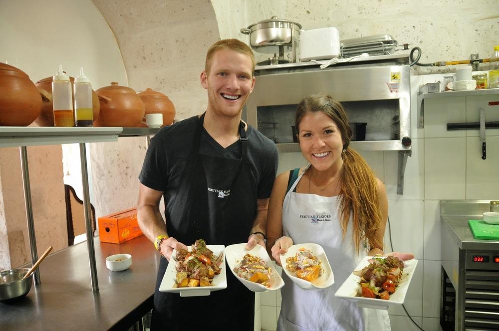 Cooking Class Arequipa Peru