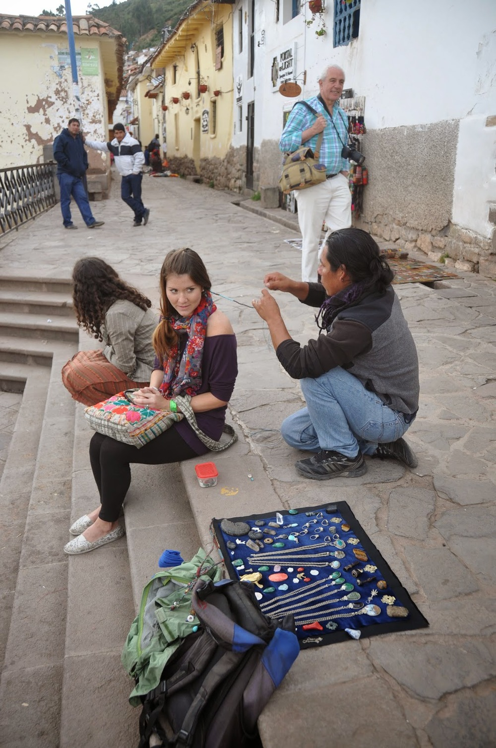 Hair Wrap San Blas Cusco Peru