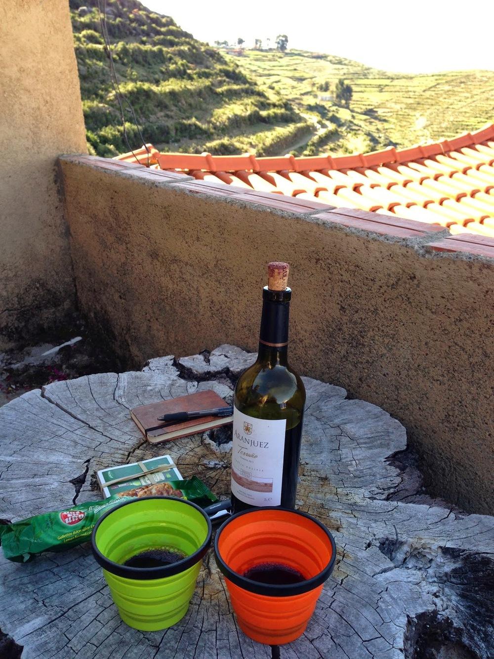 Wine Isla Del Sol Lake Titicaca
