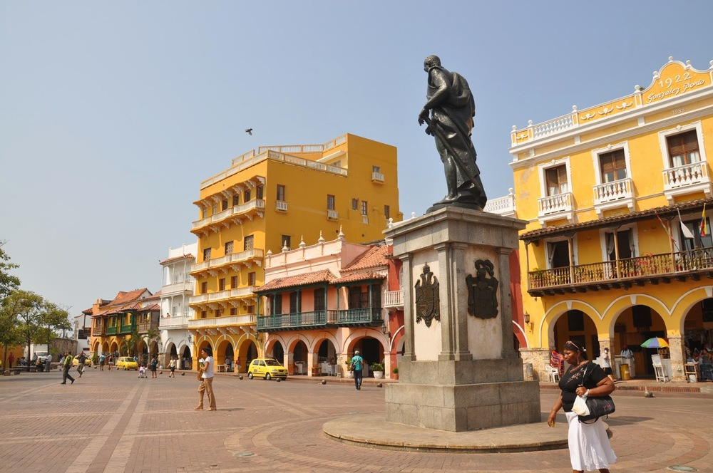 Plaza de la Paz Cartagena