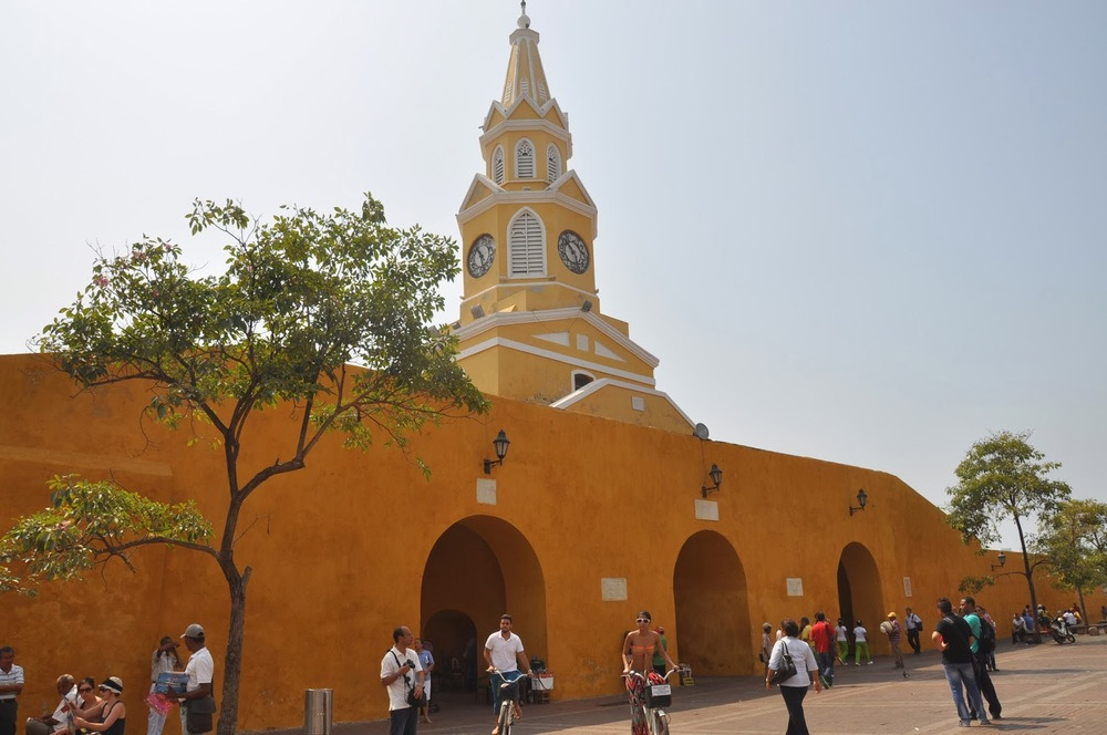 Cartagena Clocktower Plaza
