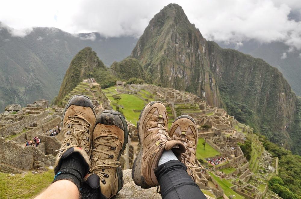 Boots Machu Picchu Inca Trail Cusco Peru