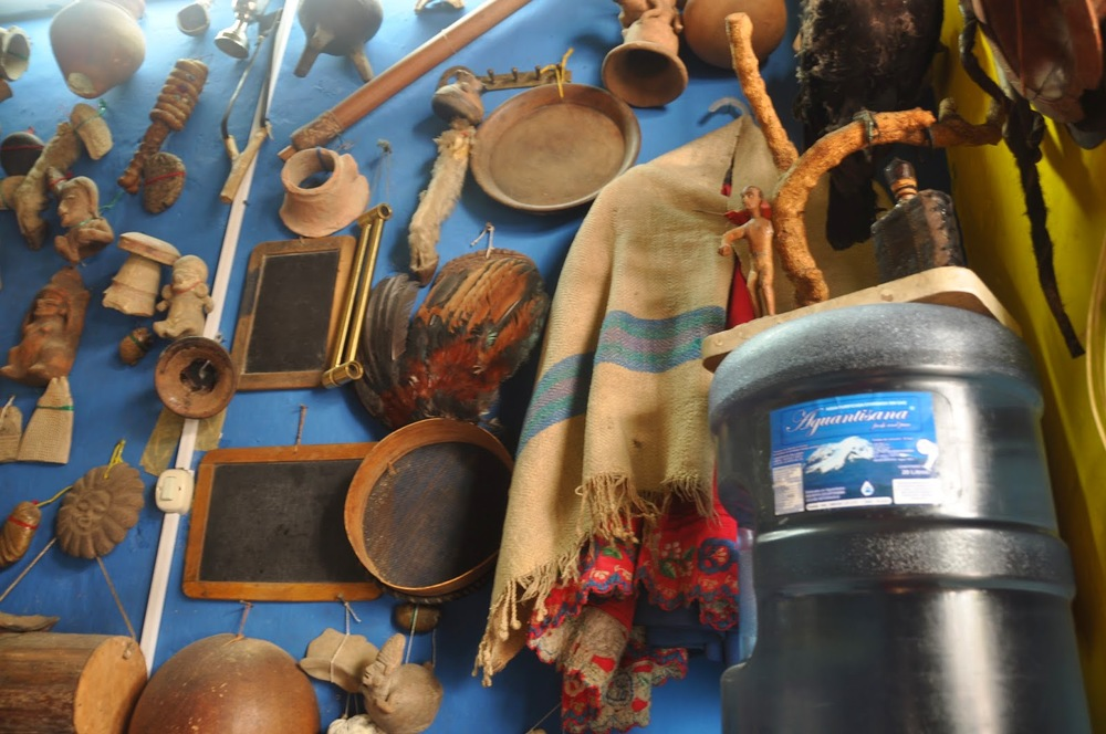 Artifacts in the Shaman's office
