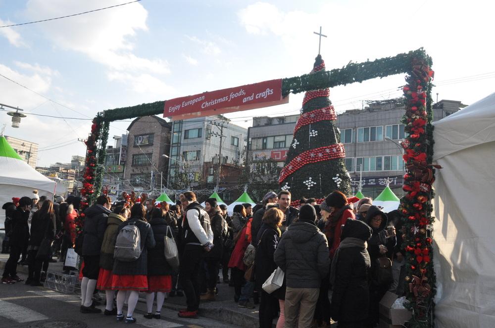 Seoul Christmas Market