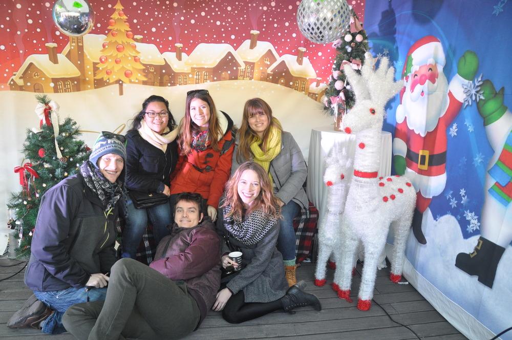 Seoul Christmas Market Friends