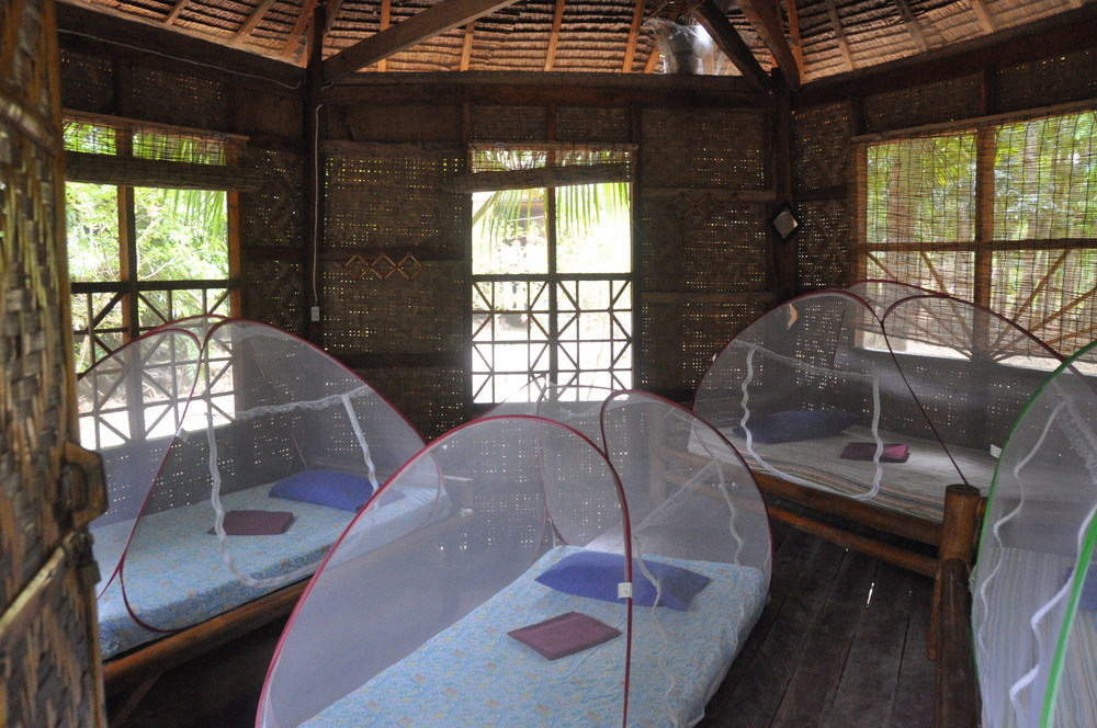 Philippines Nuts Huts Hostel Bohol