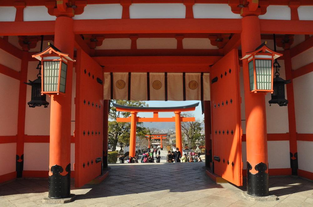 Fushimi Inari Shrine Japan Orange Gates
