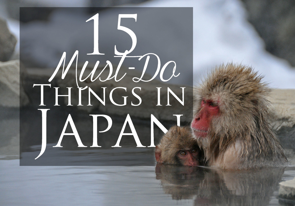 15 Must-Do Things in Japan Snow Monkeys
