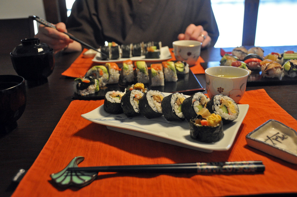 Sushi Making Class Kyoto