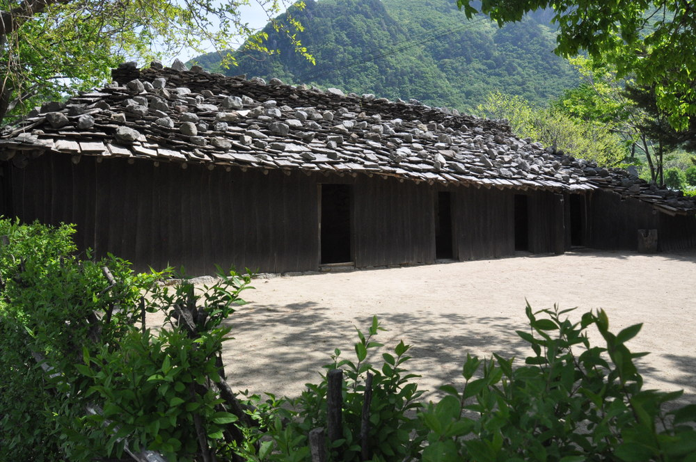Ulleungdo Island Korea Traditional Wooden House