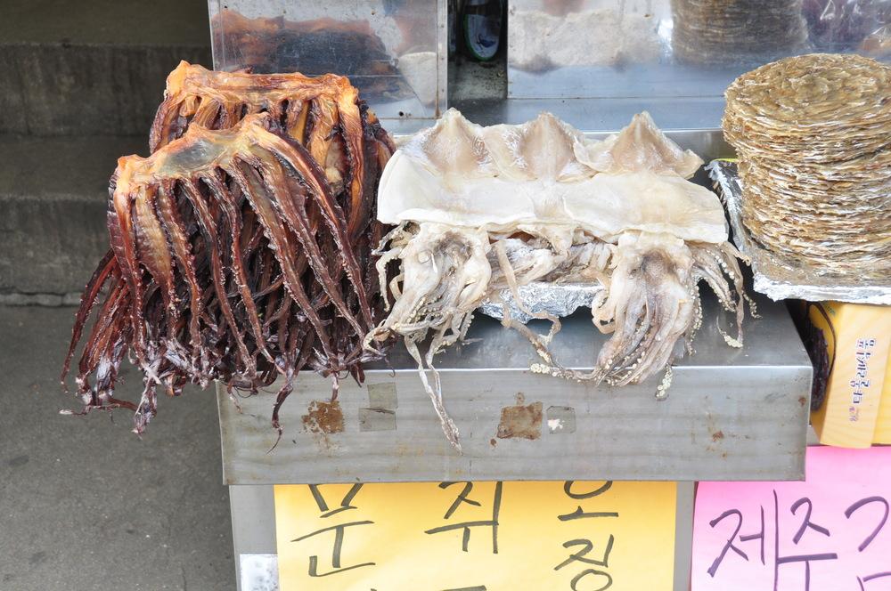 Dried Seafood Jeju Korea