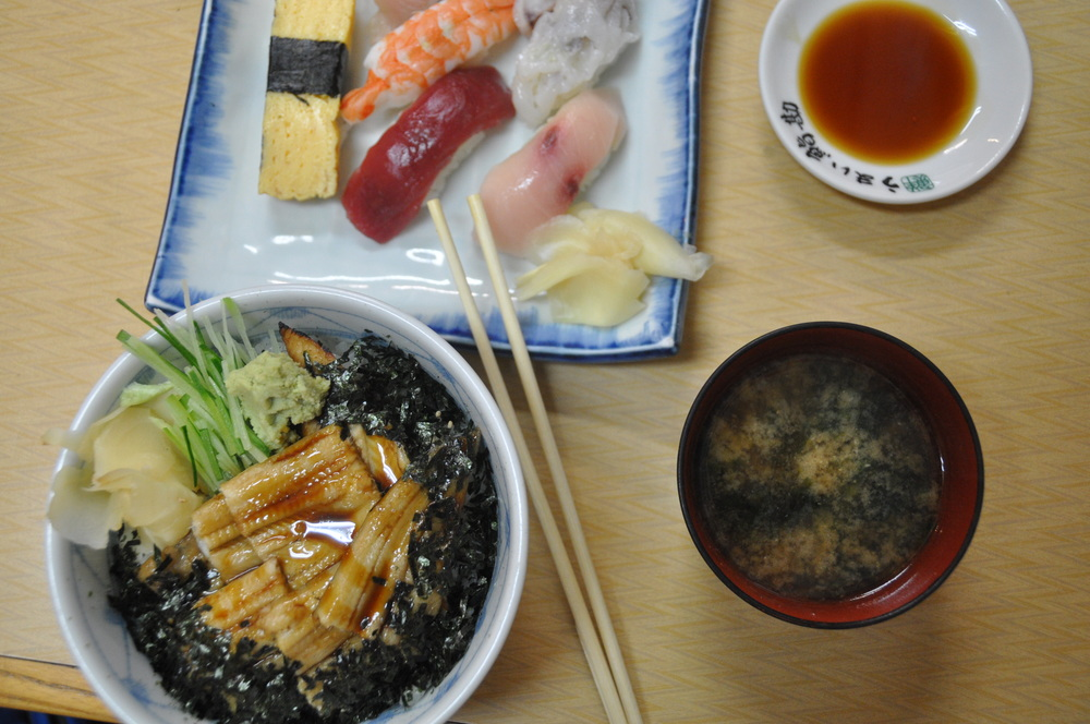 Tsukiji Fish Market Sushi Fresh Tokyo Japan