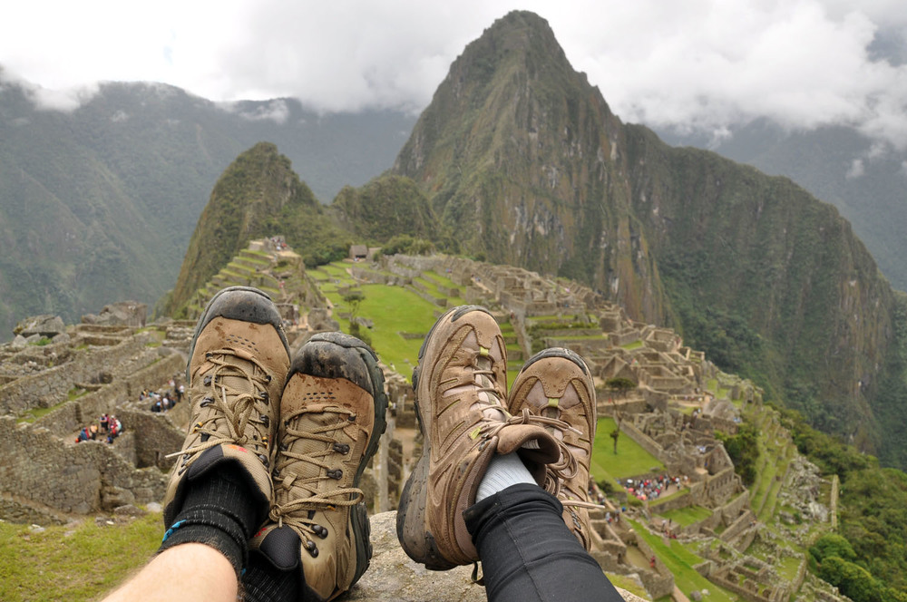 Travel Makes you a Stronger Couple Machu Picchu