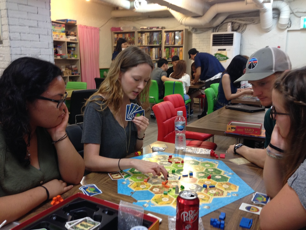 Board Game Cafe Korea Bucket List