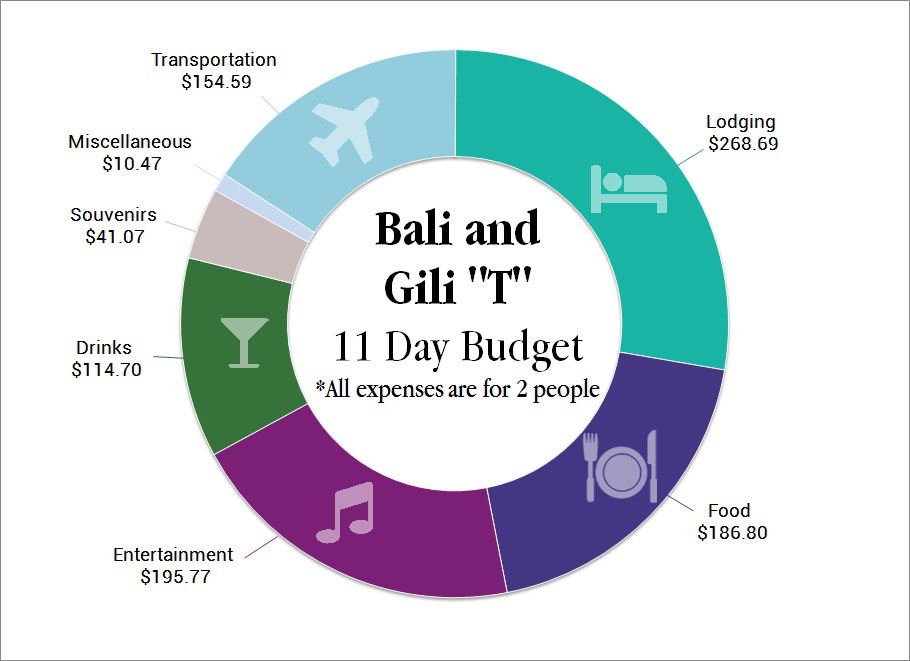 Bali Budget Graph