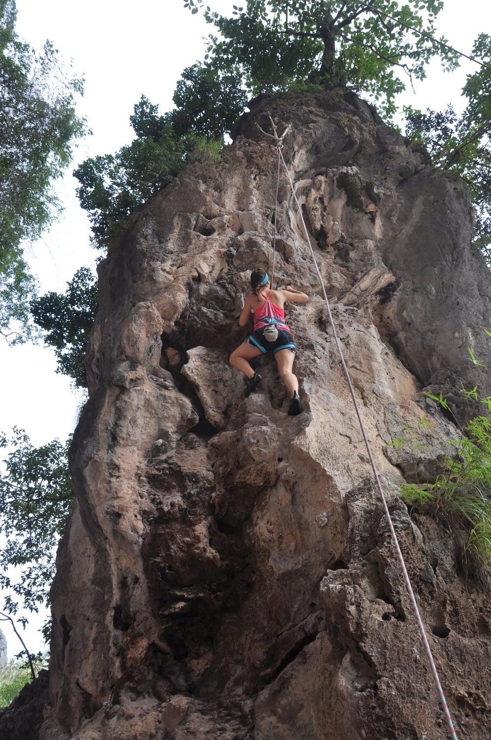 Rock Climbing Railay Beach Krabi