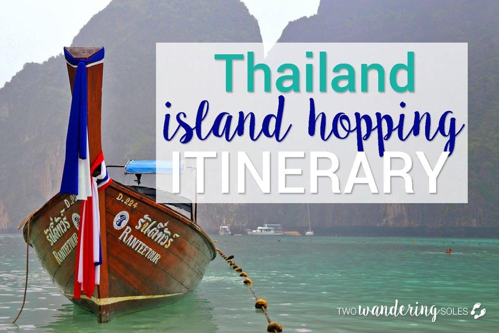 Thailand Island Hopping Itinerary 2 weeks