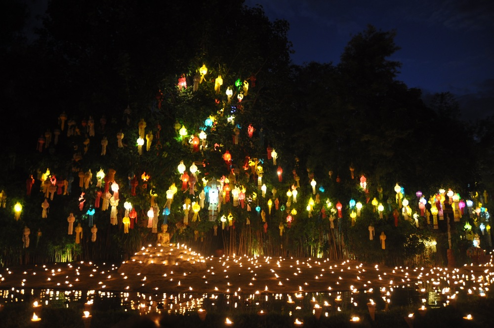 Wat Pan Tao Lantern Ceremony: Unique Things to do in Chiang Mai